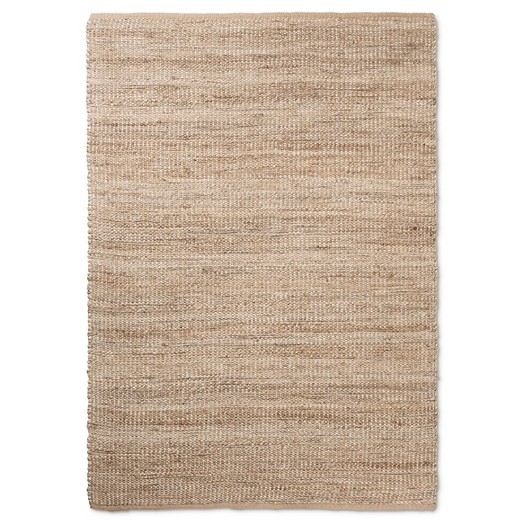 Silver Lurex Natural Rug Cottage Bound